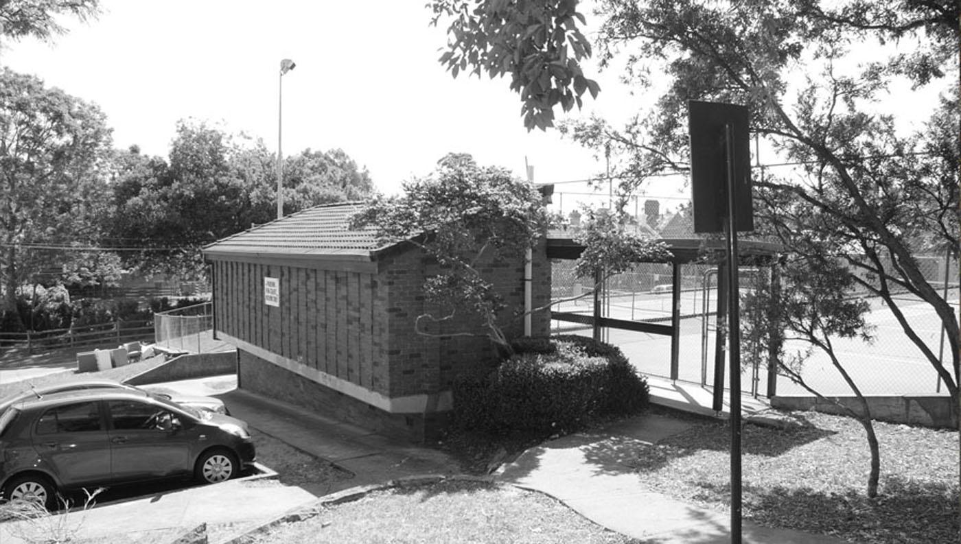 St James Park Amenities, existing tennis court amenities