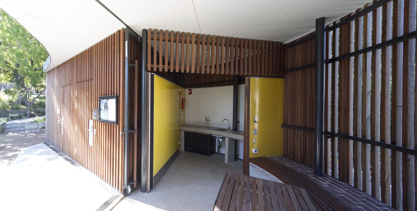 St James Park Amenities, open amenities kitchenette