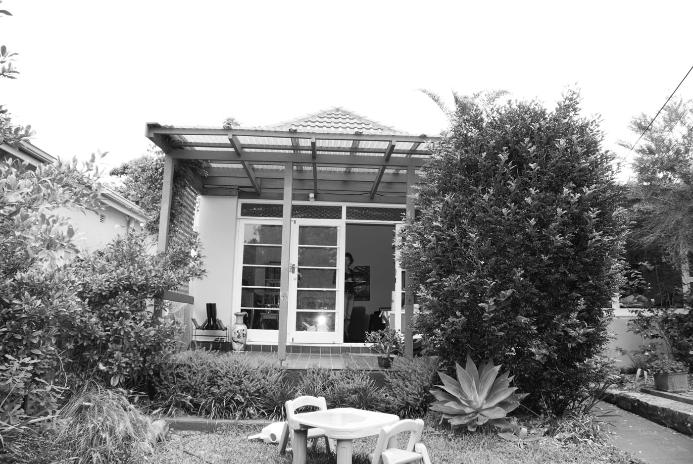 Campbell House by award winning Sydney residential architecture firm Sam Crawford Architects. Image of the existing house