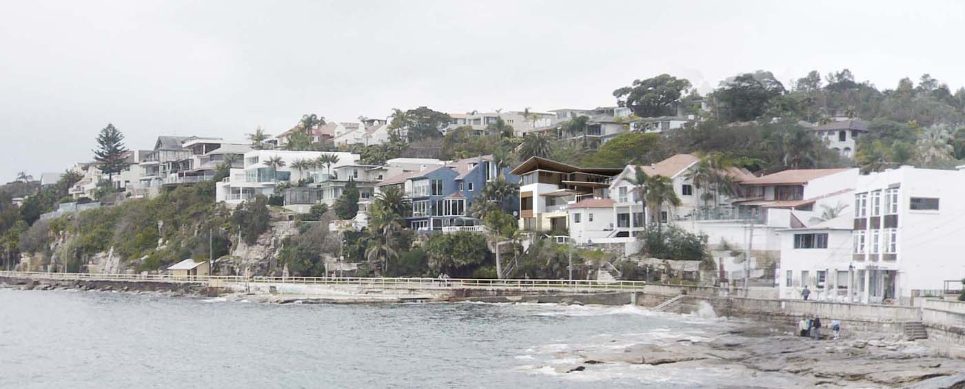The Bower by Sam Crawford Architects, as viewed from Cabbage Tree Bay