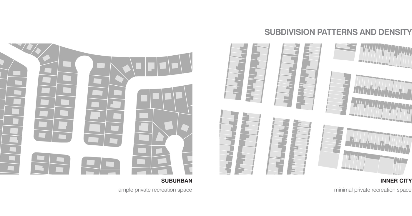 Architecture on Show by Sydney award winning architecture office Sam Crawford Architects. Site diagram.