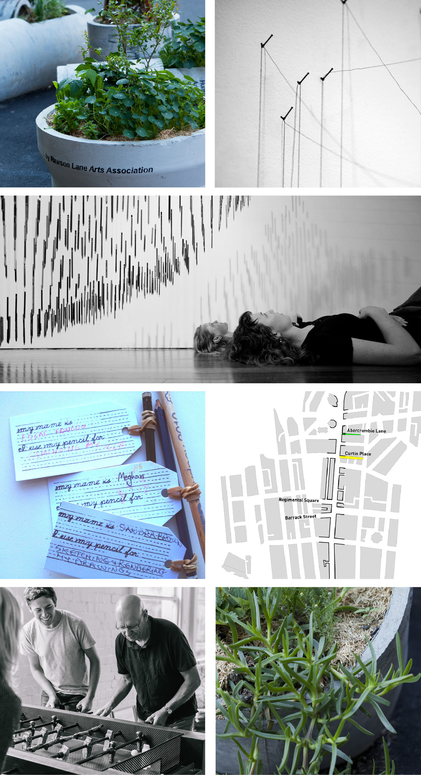 Architectural research projects