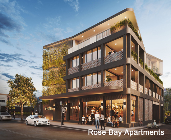 Rose Bay Apartments – in progress