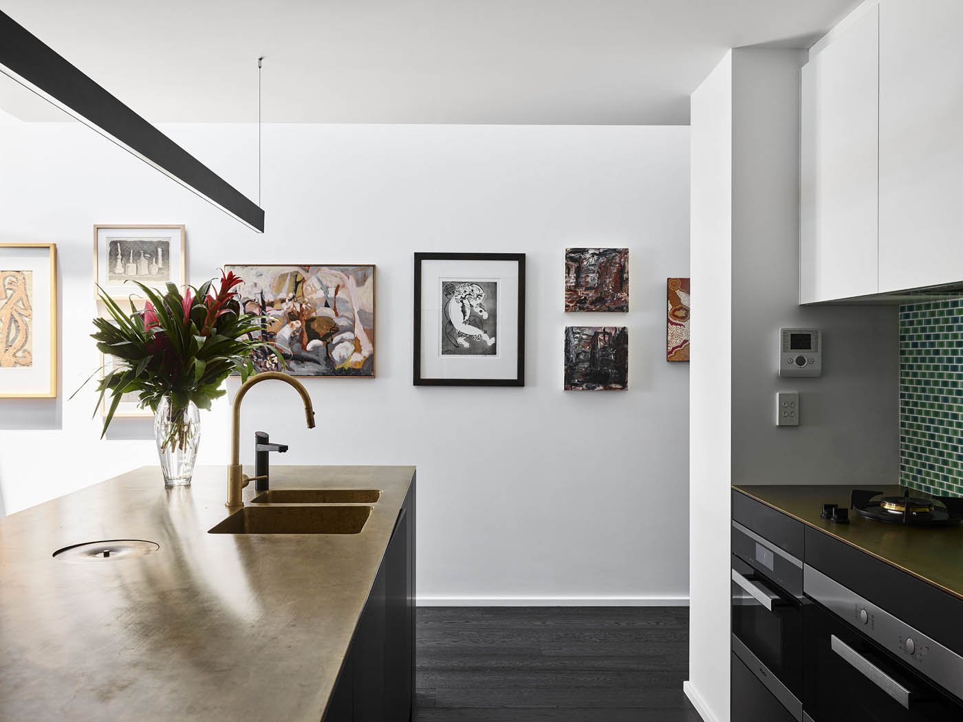Sam Crawford Architects Glebe Townhouse kitchen detail