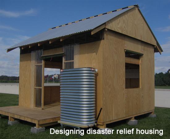Designing disaster relief housing