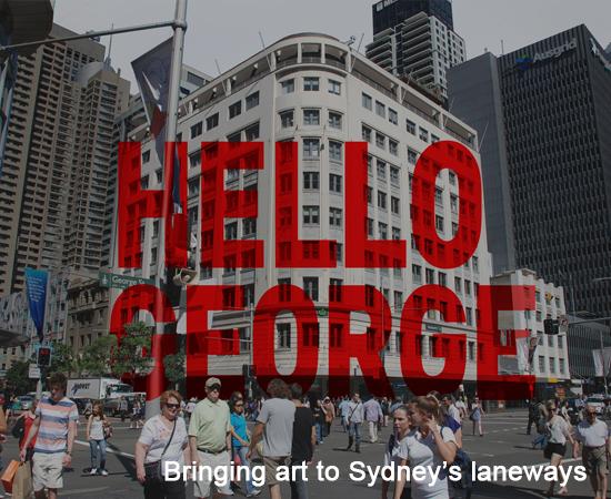 Bringing art to Sydney's laneways