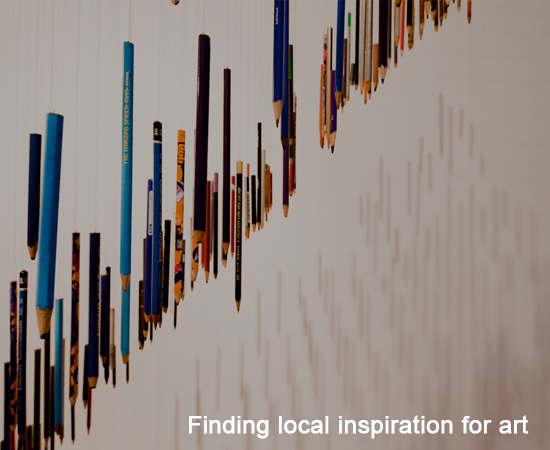 Finding local inspiration for art