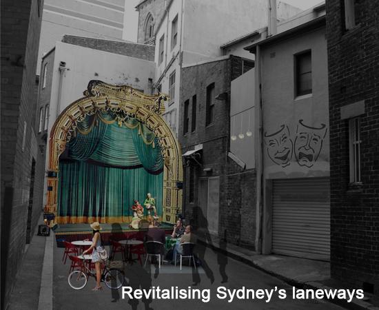 Revitalising Sydney's laneways