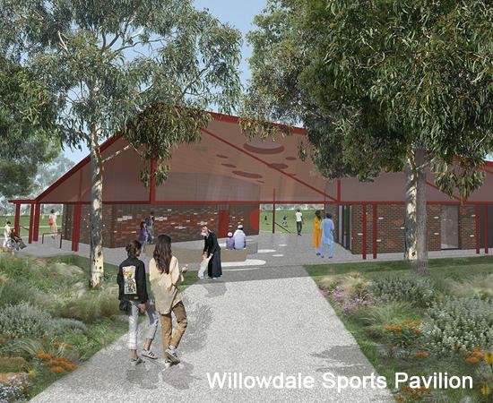 Willowdale Sports Pavilion – in progress