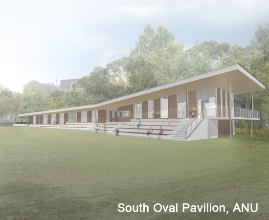 South Oval Pavilion, ANU – ongoing