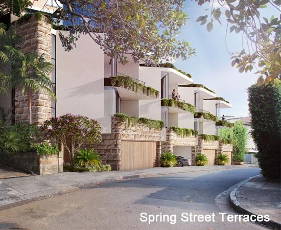 Spring Street Terraces