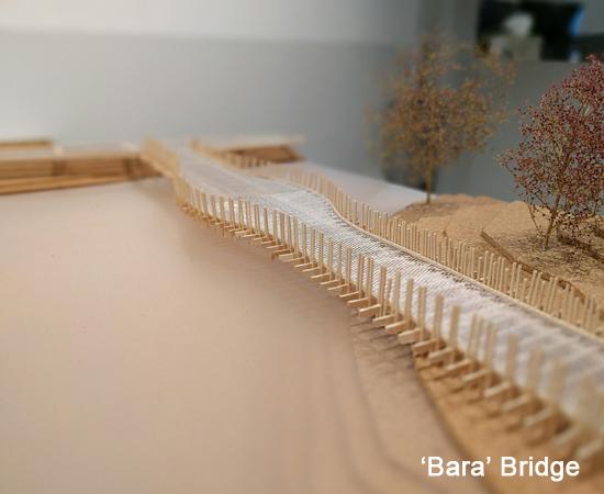 Bara Bridge – in progress