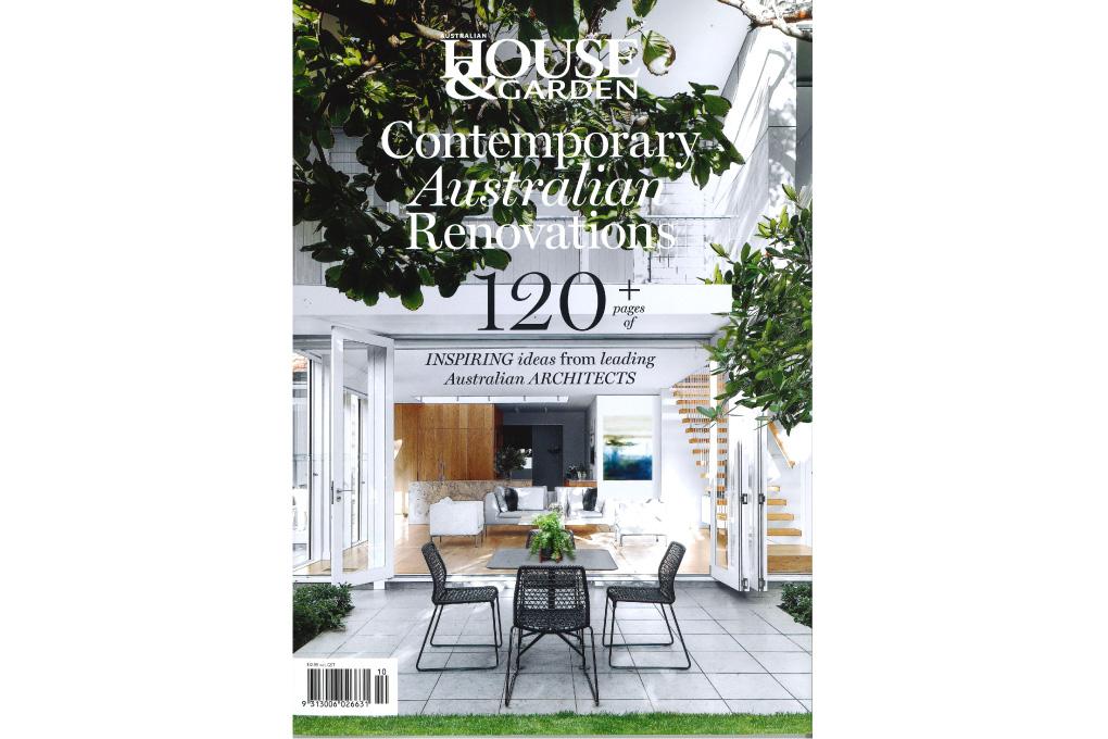 House in the Garden featured in House & Garden magazine
