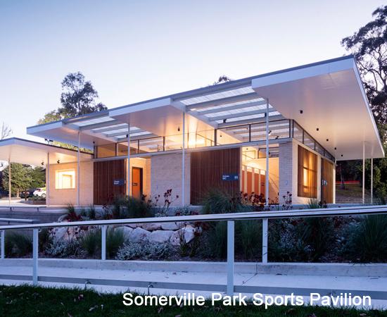 Somerville Park Sports Pavilion