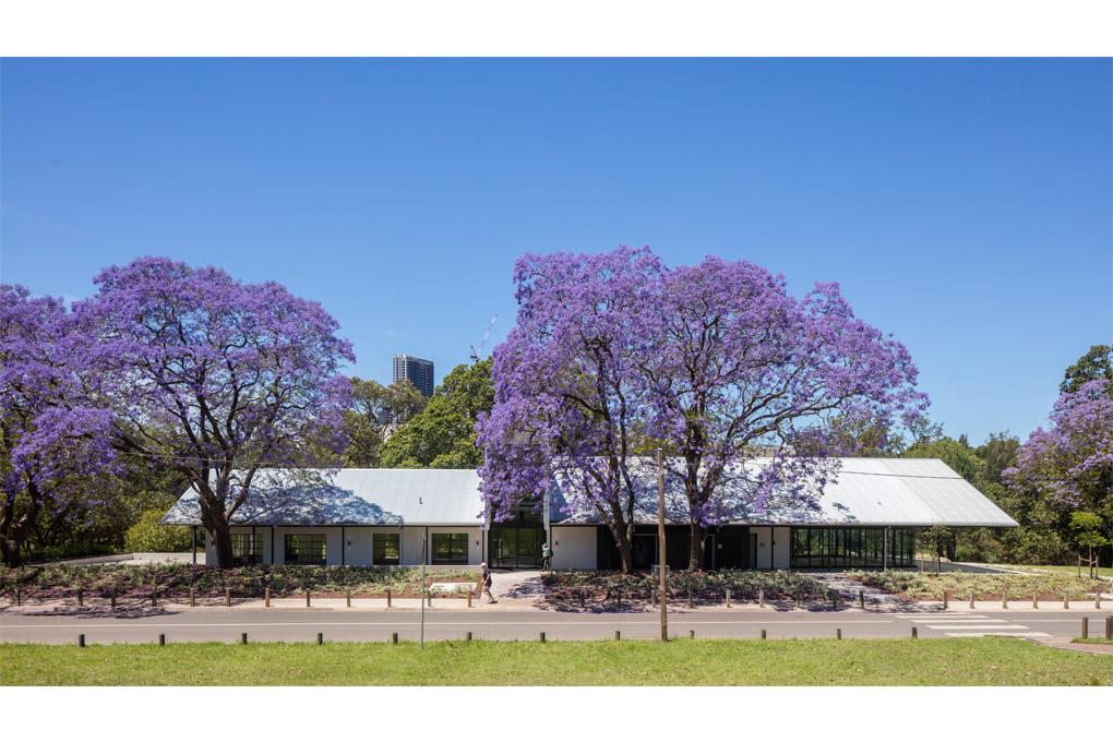 Parramatta Park Café photographed