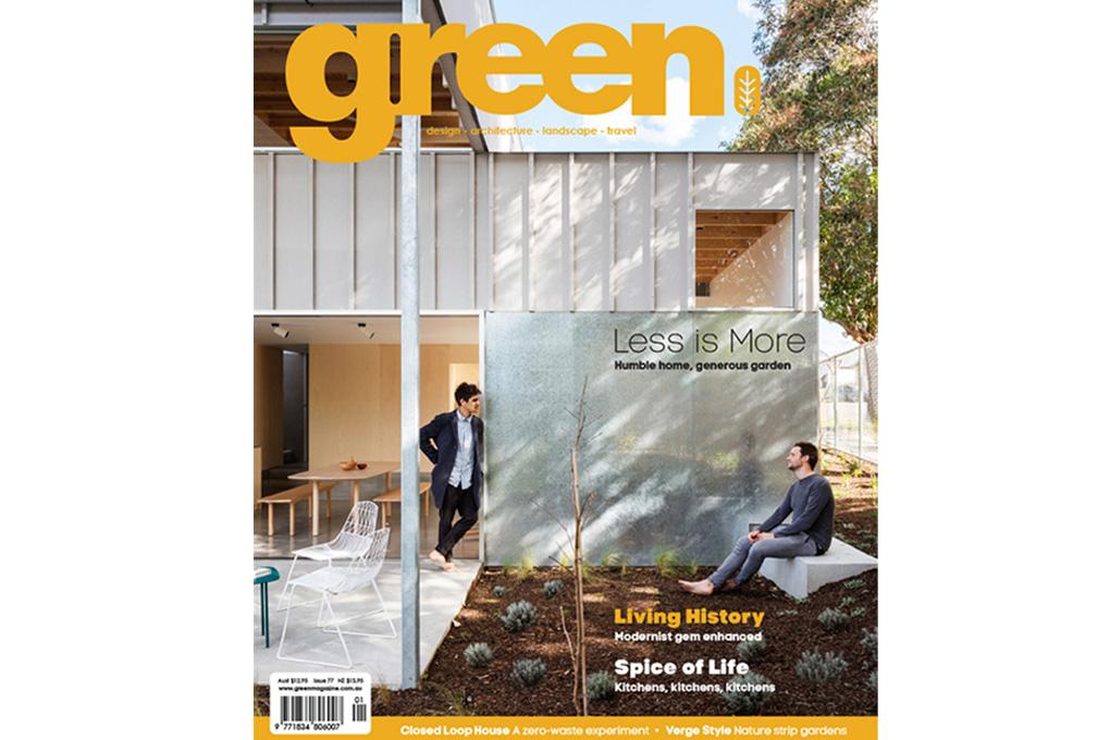 Scotland Island House II featured in Green Magazine